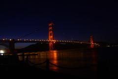 Bridg3e at Night - 4-21-2017 (kimstrezz) Tags: 2017 rpconference2017 sanfrancisco sanfranciscoca goldengatebridge