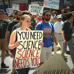 Knowledge not Ignorance (Dom Guillochon) Tags: urban city downtown sandiego california usa earth multiverse being nothingness humans people expression signs time life reality dream existence roam wandering public politics science facts truth marchforscience 2017 crowd