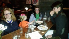 Dinner At MoMo Sushi Shack (Joe Shlabotnik) Tags: brooklyn sue sarahp momo bliksem bushwick cameraphone eastwilliamsburg madeleine march2017 galaxys5 2017