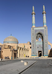 Jame Mosque Yazd (Wild Chroma) Tags: jame mosque yazd iran