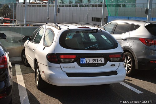 Ford Taurus Wagon - Switzerland, diplomatic plate