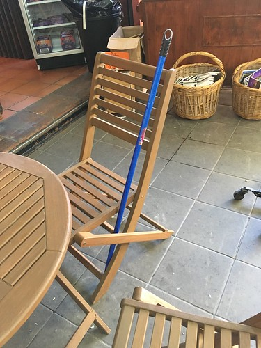 The Monkey Stick used by the owner of the cafe to run off monkeys. I regret not getting video of that operation.
