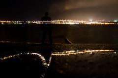 Walk me Home (Keith Midson) Tags: xc90 volvo car selfportrait keithmidson tasmanbridge tasmania lindisfarne derwentriver lights night afterthefuneral