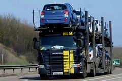 SCANIA P420 AYSODUA CARLSON (WESTROWMAN) Tags: cartransporter scaniatruck scaniap420 a11trucks