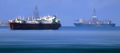 Way offshore (oobwoodman) Tags: trinidadandtobago trinidad portofspain ship schiff navire bateau oilexploration oil petroleum tanker caribbean caraïbes karibik
