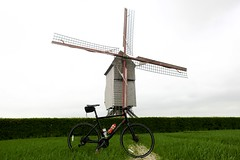 Windmill (will_cyclist) Tags: cycling flanders jens
