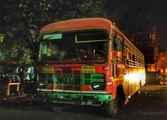 Nagpur - Gadchiroli (yogeshyp) Tags: msrtc maharashtrastatetransport msrtcparivartanbus nagpurgadchirolistbus gadchirolidepotbus