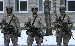 Latvian Army (World Armies) Tags: operationatlanticresolve usareur strongeurope latvia 168ar 1stbattalion 68tharmorregiment 4thinfantrydivision 4id interoperability uncasing welcomeceremony armor lv