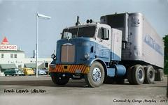 Mack  Little Audrey (gdmey) Tags: mack macktruck colorized coe littleaudrey trucks transportation