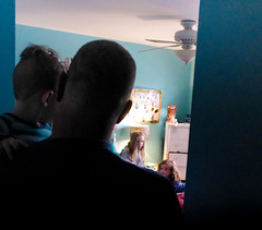 Boys Entering the Girl's Room (ex_magician) Tags: kevin patrick sarah darby littlegirls girlsroom playing oaklawn illinois chicagotrip moik photo photos picture pictures image april 2017 suburbs suburban bliss interesting