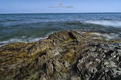 Murcia long exposure (MCarballo) Tags: 2014 calblanque mar mediterraneo murcia playa seda tarde verano