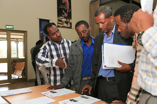 Participants at the SmaRT-Ethiopia project workshop