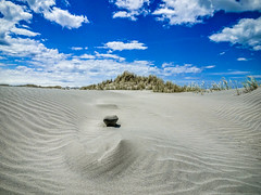 Dune of sand (Lanceflot) Tags: sand golden bay farewell spit newzealand abstract nature wild sky blue clouds landscapes desert australasia zealandia coast breathtaking