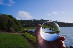 Bay globe 1 (Kiwi Jono) Tags: globe ball bay inverted smcpfa35f2 pentax pentaxk1