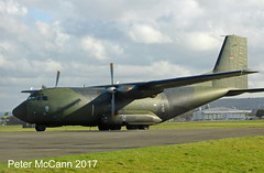 50+82  C160 Transall GAF Glasgow March 2017 (pmccann54) Tags: 5082 c160transall germanairforce