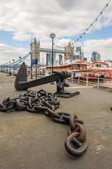 Heavy metal (stevefge) Tags: anchor bridge london thames towerbridge quai chain quay riverside bridges reflectyourworld uk