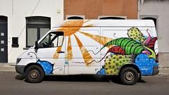 Uconique / Zwijnaardsesteenweg - 7 apr 2017 (Ferdinand 'Ferre' Feys) Tags: gent ghent gand belgium belgique belgië streetart artdelarue graffitiart graffiti graff urbanart urbanarte arteurbano