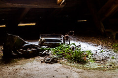 What to pack (keiththrn) Tags: gasmasks soviet union gas masks urbex urbanexploration wwii worldwarii coldwar shadows contrast nature naturewillout