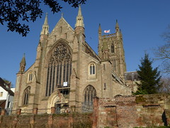 Worcester Cathedral (Aidan McRae Thomson) Tags: worcester cathedral worcestershire church architecture medieval