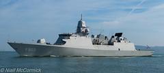 HNLMS Tromp (F803) (Niall McCormick) Tags: dublin port hnlms tromp f803 dezevenprovinciën frigate dutch royal netherlands navy warship koninklijke marine