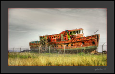Chicago Fire Department jpg (the Gallopping Geezer '4.4' million + views....) Tags: boat ship drydock abandoned decay decayed weathered worn faded neglected derelict dock grounded roadtrip northernmichigan upnorth mi michigan upperpeninsula canon 5d3 tamron 28300 geezer 2016