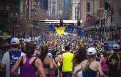 Finishing Straight (Chas Pope 朴才思) Tags: 2017 usa america boston bostonmarathon ma massachusetts baa runboston zs50