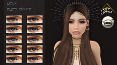 **YEUX** Eyes Akura For Event @ThepeppersExpo (**Yeux** karlotahirvii) Tags: eyescatwa catwa eyesmesh eyes event thepeppersexpo avatar vendor sl giftsecondlife secondlife avatarsecondlife yeux yeuxeyes
