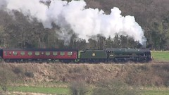 LMS No.46100 'Royal Scot' southbound through Esk Valley [NYMR] on 26th March 2017 (soberhill) Tags: northyorkshiremoorsrailway nymr lms 46100 royalscot grosmont pickering railway steam train locomotive eskvalley 2017