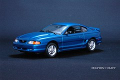 1994 Mustang GT 1 (DOLPHIN☆CRAFT) Tags: 1994 ford mustang gt coupe フォード ムスタング マスタング クーペ プラモデル