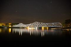 Duncan Bridge at Night (MikeyMcInnis) Tags: walker county alabama jasper duncan bridge night photography stars astrology southern alone peace sky old america barn house canon