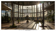 Glass House II (Marcos Jerlich) Tags: glasshouse botanicalgarden botanical garden sorocabacity brazil perspective architecture buildings windows doors sky cielo colours sun sunlight skyline paisaje 7dwf lightroom canon canont5i canon700d efs1855mm marcosjerlich