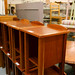 Dark wood side table E30 several in stock