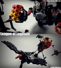 League of Legends (버푼) Tags: leagueoflegends lego bandito fiddlesticks bionicle bufoon herofactory blitzcrank lol