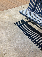 photo - Bench & Shadow, Oakland Estuary (Jassy-50) Tags: photo alameda california oaklandestuary bench nobhill serendipity shadow hbm