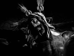 The Fisherman (Raggedjack1) Tags: sevilla nazarene crucifixion jesuschrist cross sanlorenzo messiah jesusofnazereth nazareth sonofgod lordjesus immanuel