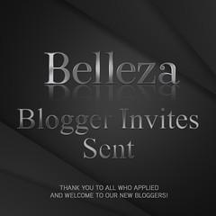Blogger Invites Sent (Felicity Blumenthal) Tags: belleza bloggers invitiations