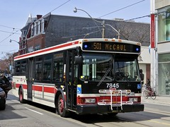 Toronto Transit Commission 7845 (YT | transport photography) Tags: ttc toronto orion vii 7 bus transit commission