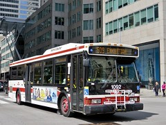 Toronto Transit Commission 1092 (YT | transport photography) Tags: ttc toronto orion vii 7 bus transit commission