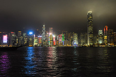 Hong Kong (www.theuncommontravelers.com) Tags: hongkong china cina city città theuncommontravelers backpackers skyline grattacieli grattacielo skyscrappers skyscrapper night