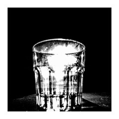 glassoflight (seba0815) Tags: ricohgrdiv grdiv monochrome bw blackwhite black white bianco nero blanc noir schwarzweis shadow contrast light sunlight shining glassoflight glass dark table blurred square seba0815 minimal inspiredeye preset