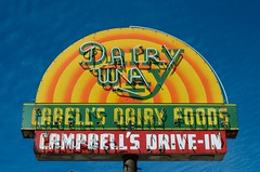 Dairy Way (dangr.dave) Tags: mineola tx texas downtown historic architecture neon neonsign dairyway cabellsdairfoods campbellsdrivein woodcounty