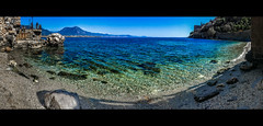 Living on the shore (Melissa Maples) Tags: alanya turkey türkiye asia 土耳其 apple iphone iphone6 cameraphone spring roman ancient ruins hill alanyacastle castle mediterranean sea water beach widescreen letterbox panoramic panorama bay mountain