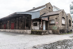 Old Warehouse On Lime Street Dublin [British & Irish Steam Packet Company]-127012 (infomatique) Tags: limestreet dublindocklands oldwarehouse bi shipping derelict williammurphy streetsofdublin streetsofireland infomatique fotonique britishirishsteampacketcompany