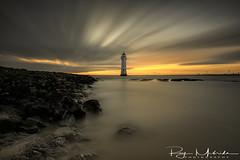 """Perch Rock Lighthouse"" (F:11@ 300 seconds) (Ray Mcbride Photography) Tags: lighthouse sunset sea longexposure newbrighton"