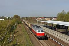 Montag ist Murmeltiertag: 232 294 mit dem Knicker in Birkenstein (M. Eisenmann) Tags: knicker 232 ludmilla ostbahn diesellok