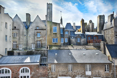 the back of Saint-Malo (-justk-) Tags: saintmalo bretagne city house houses france frankrijk