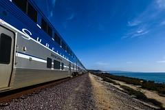 Surfliner (agruebl) Tags: surfliner california amtrak train zug pacificocean pazifik meer sea coast küste bahn rail perspective nikon nikond750