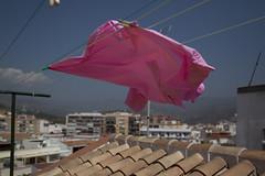 (Beathe) Tags: spain costadelsol fuengirolaalmunecar almunecar hanne geir mette kristine beathe pink shirt drying img2860