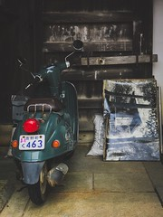 Yoshinoyama 吉野山. Japan (H.L.Tam) Tags: japan sketchbook iphone iphoneography 吉野 yoshino street iphone7plus documentary yoshinoyama streetphotography 吉野山 photodocumentary motorbike