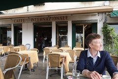 Cafe - Riva degli Schiavoni (Carneddau) Tags: cafeinternazionale helenmurray italy rivadeglischiavoni venezia veneto